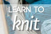 ️Knit Tech / Technique and Tips for Knitting