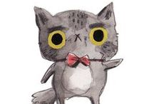 Chara design : Miaou miaou graaaou / Chara design, cats and other felines