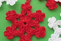 ❤ Crochet /Knit Seasonal ❤ / by mary b. Hooked