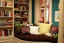 Cozy Nooks / Perfect places to curl up with a good book (or iPad).