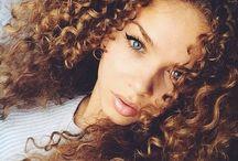 Natural -Africana - curls <3 / #Beautiful #Natural hair #stunning #curls