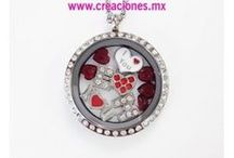 Lockets de acero inoxidable / Lockets de acero inoxidable - floting charms- Creaciones www.creaciones.mx, info@creaciones.mx, (662)2105599