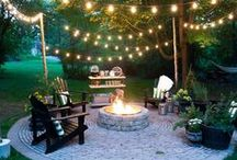 Outdoor Space / Ideas for yards, patios, fun, relaxing, and enjoying your home's outdoor space.