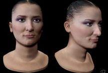 Female Model 01 / Female Model 3dsmax, Zbrush, Photoshop