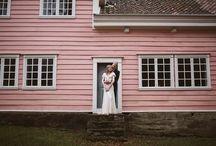 A pinkish wedding / Blush, peach, pink, cream and white colour palette