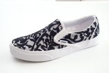 diy chaussure / customiser des chaussure