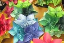 Crafty - Origami / Japanese art of paper folding. / by Elizabeth Crowe