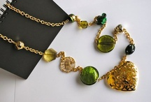 Green by BluDiletta / handmade jewellery