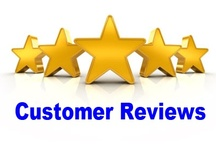 Customer Reviews / We appreciate our customers who take the time to write a review.