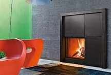 Interior Design | FIREPLACE . caminetto