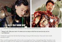 Fandom - Marvel / Mixture of mostly Avengers & X-Men.