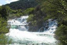 Chorvatsko - NP Krka / Národní park Krka se nachází nedaleko města Šibenik