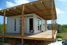 Ideeën voor een huis. / Over kleine en practische huizen.