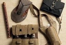 LARP - Bags & Pouches / LARP Bags, purses & belt pouches.