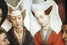 Fashion - Burgundian (early 15 c.), Late Gothic / Burgundian (early 15 c.), Late Gothic fashion and lifestyle