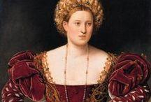 Fashion - (16. c.) Renaissance - Italian / (16. c.) Renaissance - Italian fashion and lifestyle