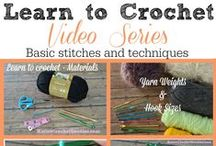 Crafty - Crochet tutorials / by Elizabeth Crowe