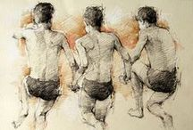 Andre Kohn Drawings / A collection of available drawings by Andre Kohn
