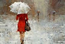 Andre Kohn Prints / Limited Edition of 95. All Giclees (prints) are signed, numbered and enhanced by the artist.  Available at www.andrekohnfineart.com