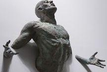 Sculptures / #sculptures #men #male #art