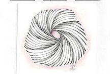 Zentangle - patterns