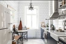 Kitchen dreams / Kitchen tools, tablewear, cutlery, table setting, kitchen textiles and beautiful kitchens in general.