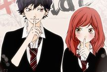 •Ao Haru Ride• / Things aren't like they were in those days.