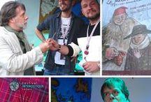 FESTIVAL INTERCELTIQUE LORIENT 2015 (Bretagne-Brittany, Asturies) / Le festival interceltique de Lorient (FIL) édition 2015 a  commencé ! L'occasion de saisir au vol, depuis une terrasse de la rue du Port, des parfums de bières, l'odeur entêtante du kouign-amann et du chouchenn (fantaisies locales), ainsi que des silhouettes éphémères à peine entraperçues et tout aussitôt disparues. Effluves de musique à saisir aussi, aux Jardins des Arts et des Luthiers. La Banda LaKadarma, musiciens des ASTURIES (ville de NAVA) y était, le 13 août, pour une offrande sonore...