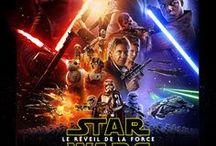 STAR WARS_La Guerre des Etoiles / La série de films Star wars et ses différents épisodes.