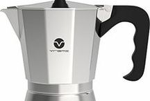 Deeply Caffeinated / Caffeine...it's a brew-tiful thing! Get your caffeine fix with the help of Vremi's favorite kitchen aid coffee products. You'll thank us in the morning.