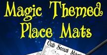 Magic Theme for Cub Scouts / Magic themed ideas for blue and gold banquets or pack meetings.