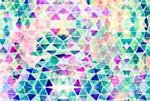 GEOMETRIC PRINT AND PATTERN / by Amy Sia