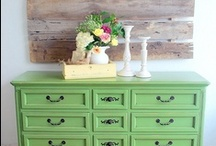 Paint & Repurpose & Build / by Rebecca Reed