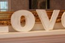 My wooden letters / This wooden letters is created by me ,in my spare time