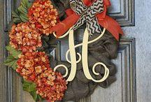 Wreaths! / by Tracey Mayhall