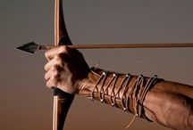 Archery, Atlatls, etc... / Bows, arrows. atlatls and other human powered, leverage weapons.