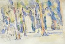 Visual | Paul Cézanne, watercolor