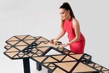 Swarm Table by Natalie Goldfinger / A innovative table designed by FIDI Master Student Natalie Goldfinger