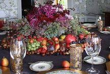 Formal Fab Fall Table Decor