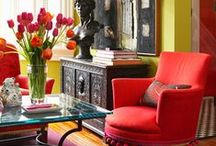 Decorating with COLOR!!