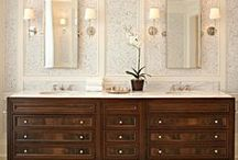 Dream Bathrooms / Our collection of dream bathrooms, feel free to re-pin and share! Cabinetnow.com