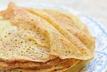 Recipes | Блины пшеничные