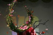 Floral head art / by Kyla Beutler Floral Artistry