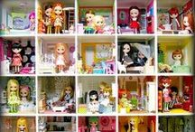 Doll & Toy Collection Display Ideas / Ideas & tips for how to display your doll or toy collections