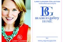 Libby Langdon for Bradburn Gallery Launch, Fall 2015 High Point Furniture Market!!! / Sneak peeks & Mixed Materials from my Collection of Accessories, Lamps and Accent Furniture for Bradburn Gallery, Launching this October 2015 at High Point Furniture Market, NC!