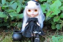 Halloween Blythe & Pullip Dolls / Halloween costume, accessories, and sweet treats for your Blythe and Pullip dolls