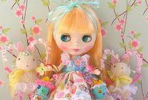 Easter & Spring Blythe & Pullip Dolls