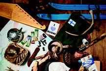 Valmistettu Suomessa - Made in Finland / Suosi suomalaista - Suomessa valmistettuja laadukkaita tuotteita ulkoiluun ja retkeilyyn - Made in Finland