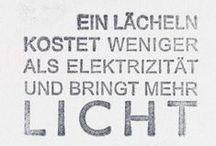 Sprüche / Englisch ist meine Muttersprache, aber Deutsch ist die Sprache der Seele.