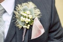 Wedding Party by Flou(-e)r / Take a look at some ideas for bridesmaids and groomsmen floral arrangements!